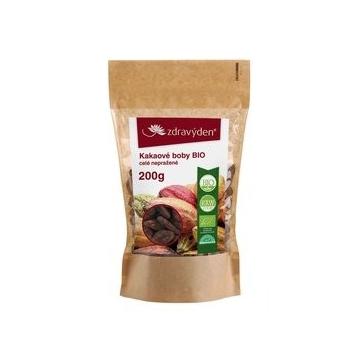 Kakaové boby BIO celé nepražené 200 g