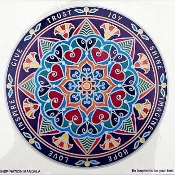 Mandala Sunseal Inspiration mandala