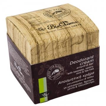 BioAroma Krémový deodorant se saturejkou, mátou a tea tree