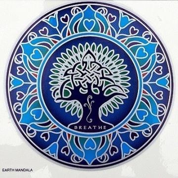 Mandala Sunseal EARTH MANDALA