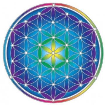 Mandala Sunseal FLOWER OF LIFE