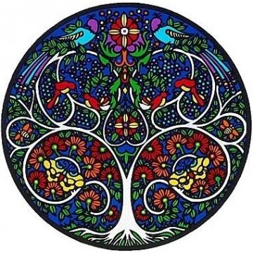Mandala Sunseal TREE OF LIFE