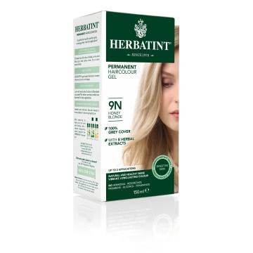HERBATINT Permanentní barva na vlasy medová blond 9N