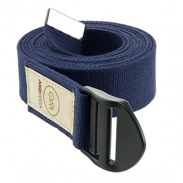 Popruh na jógu OM Ako Yoga - tmavě modrý