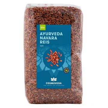 Červená ájurvédská rýže NAVARA, organic