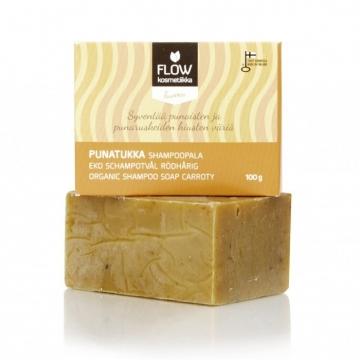 FLOWkosmetika Tuhý šampon Zrzka 100 g