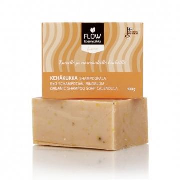 FLOWkosmetika Tuhý šampon Měsíček 100 g