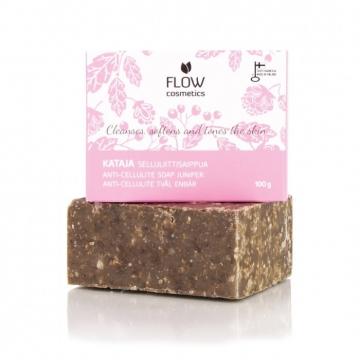 FLOWkosmetika Jalovcové mýdlo proti celulitidě