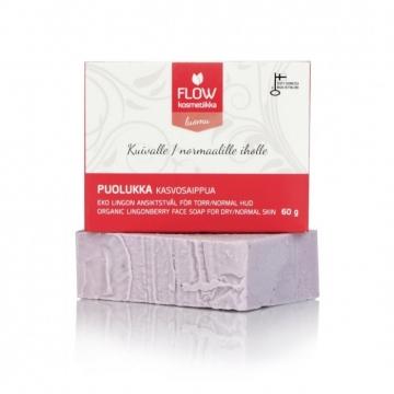 FLOWkosmetika Brusinkové pleťové mýdlo