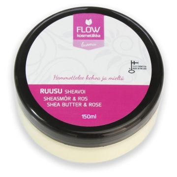 FLOWkosmetika Bambucké máslo s růží
