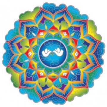 Mandala Sunseal PEACE