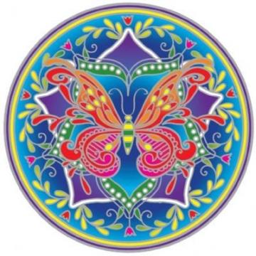 Mandala Sunseal BUTTERFLY
