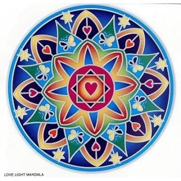 Mandala Sunseal LOVE LIGHT