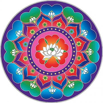 Mandala Sunseal LOTUS HEART