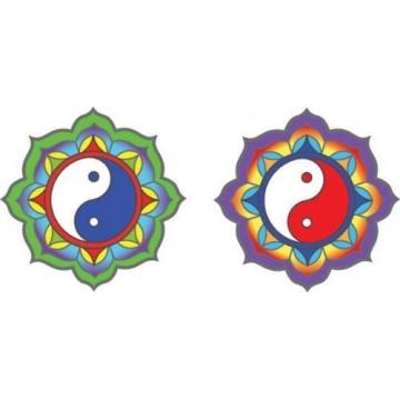 Mandala Sunlight YIN YANG