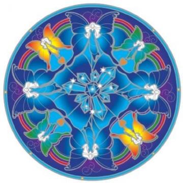 Mandala Sunseal CRYSTAL FAIRY