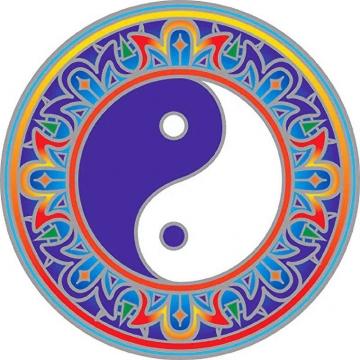 Mandala Sunseal YIN YANG