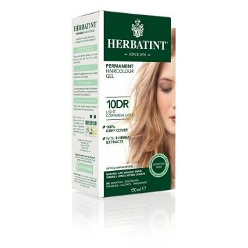 HERBATINT Permanentní barba na vlasy světle měděná zlatá 10DR
