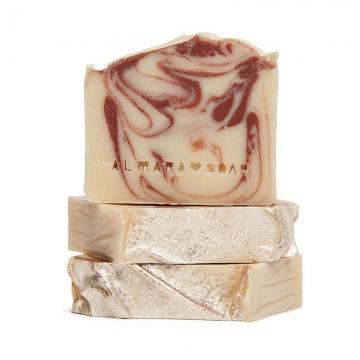 Přírodní mýdlo OHNIVÝ SANTAL - pro normální a suchou pokožku