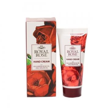 ROYAL ROSE Krém na ruce s růžovým a arganovým olejem