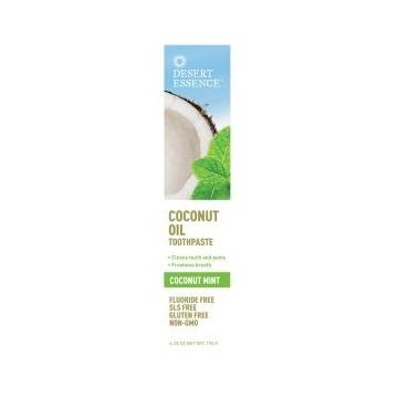 DESERT ESSENCE Zubní pasta s kokosovým olejem