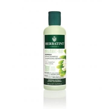 HERBATINT Moringa Repair Shampoo, Bio šampon na barvené vlasy