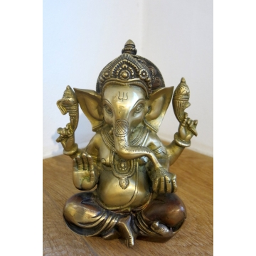 Soška Ganesha sedící 20 cm