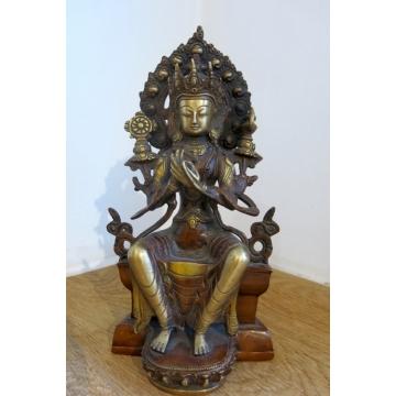 Socha Maitreya Buddha 28,5 cm
