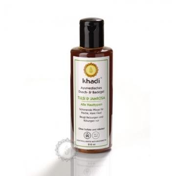 Khadi sprchový gel TULSI & JAMROSA