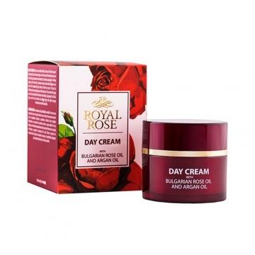 ROYAL ROSE Denní krém s růžovým a arganovým olejem