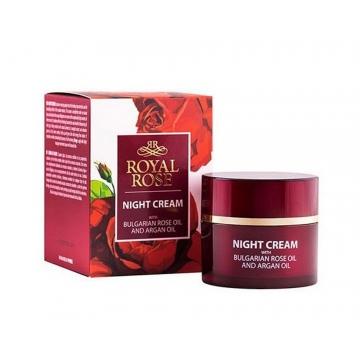 ROYAL ROSE Noční krém s růžovým a arganovým olejem