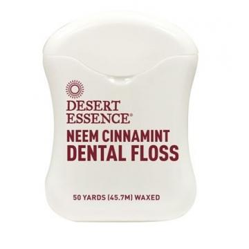 Zubní nit NEEM - skořice a máta