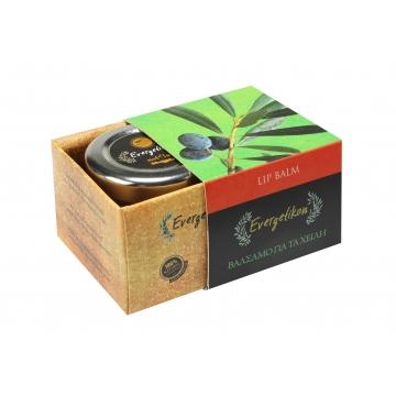 Evergetikon balzám na rty s esenciálními oleji z mandarinky, pomeranče a skořice