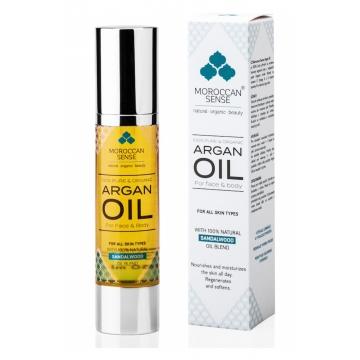 Arganový olej pro pleť - santalové dřevo 50 ml