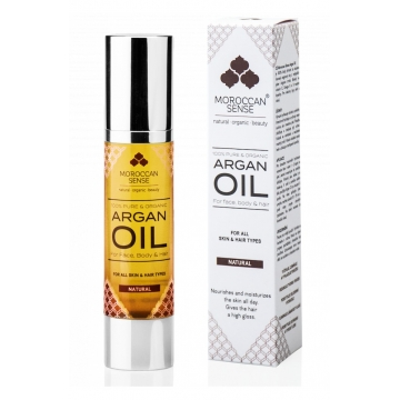 Arganový olej pro pleť, tělo a vlasy 50 ml