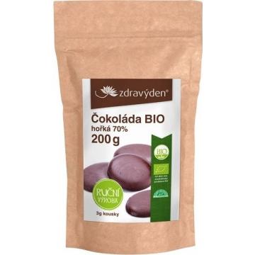 Čokoláda hořká 70% Bio 200 g