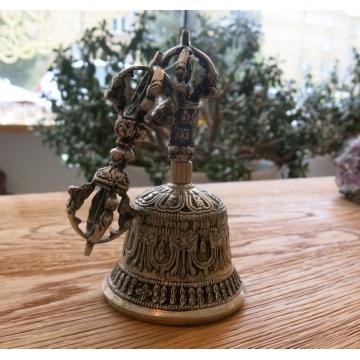 Tibetský zvonek malý bílý
