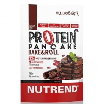 NUTREND Proteinové palačinky 750 g - čokoláda, kakao