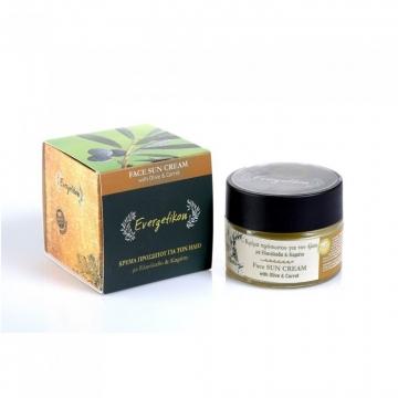 Evergetikon Přírodní krém na opalování na obličej