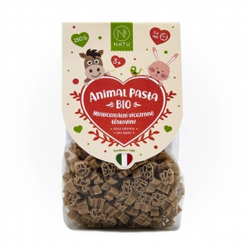 Animal Pasta Multicereální vícezrnné těstoviny Bio