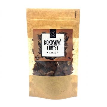 Kokosové chipsy kakao Bio 70 g