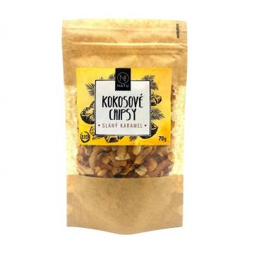 Kokosové chipsy slaný karamel Bio 70 g