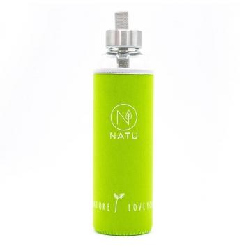 Skleněná láhev NATU 500 ml - zelená