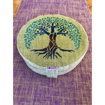 Meditační polštář vysoký - Strom života 4