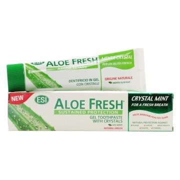 Zubní pasta ALOE FRESH - CRYSTAL MINT pro svěží dech 100ml
