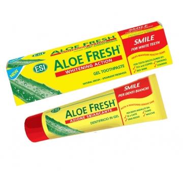Zubní pasta ALOE FRESH - SMILE s jemně bělícím účinkem 100ml