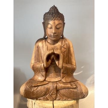 Buddha dřevěný