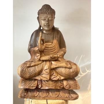 Buddha dřevěný velký