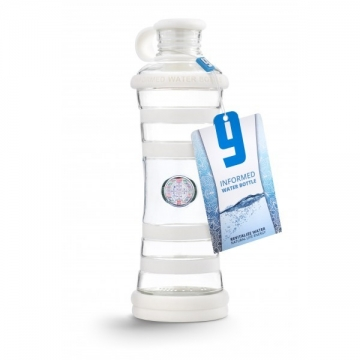 i9 láhev na vodu BÍLÁ - ČISTOTA