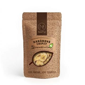 Banánové chipsy BIO 80 g